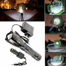 NEW 5000LM T6 LED Rechargeable Flashlight Torch Lamp W + Battery Charger