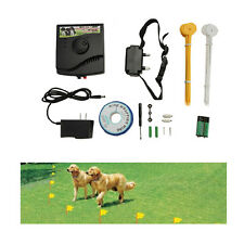 New Underground Electric Dog Fence Fencing System Shock Collar Waterproof