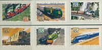 Australia 1993 SG1411-1416 Trains diecut set MNH