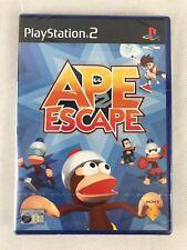 PS2 Ape Escape 2 (2003), UK PAL, brand new & factory sealed, fehlerhaft