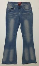 Red Rivet Womens Size 9 Light Blue Distressed Jeans Excellent Condition