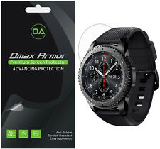 [6-Pack] Dmax Armor HD Clear Screen Protector shield Samsung Gear S3 Frontier