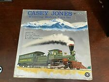 NICE! CLEAN-CASEY JONES WHISTLING WESTERN TRAIN SET TIN MODERN TOYS JAPAN-11340