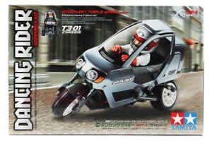 Tamiya 57405 1/8 RC Car 3-Wheeled T3-01 Chassis Dancing Rider Assembly Kit