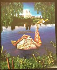 Original 2002 Stolichnaya Print Ad- Oragami Swan- Nothing More Enchanting