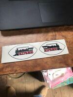 "Jacksonville Express MINI HELMET DECAL WFL Logo 3"" Static Cling World Football"