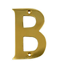 2'' Gold Anodised Letter B