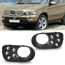 00-06 BMW X5 E53 DRL LED Daytime Running Lights Fog Lamp Bumper Cover Kit 2x