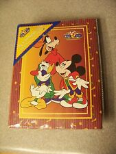 Disney for Kids Mickey Mouse Goofy Donald Duck photograph album 40 pgs holds 80