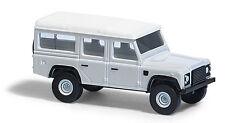 """Busch ESCALA N 8370 Land Rover Defender """"Blanco"""" # NUEVO EN EMB. orig. #"""