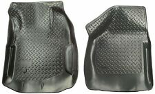 HUSKY CLASSIC STYLE SERIES FRONT FLOOR MAT LINERS FORD F-250 & F-350 SD (BLACK)