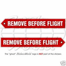 REMOVE BEFORE FLIGHT Aircraft Helicopter Sticker, Decal
