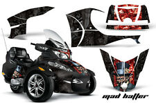 AMR RACING GRAPHICS DECAL WRAP KIT FOR BRP CANAM SPYDER RT CAN-AM - MADHATTER
