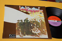 LED ZEPPELIN LP II 1° STAMPA ORIG SPAGNA 1969 EX LAMINATED COVER TOP COLLECTORS