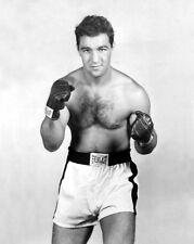 American Boxer ROCKY MARCIANO Glossy 8x10 Photo Boxing Pose Portrait Print