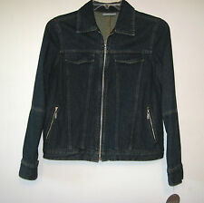 New Valerie Stevens Blue Denim Jean Jacket Coat Clothing Womens Size Medium $65