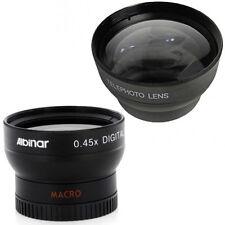 37mm Wide Angle Lens, Macro and Tele Lens fo Olympus PEN E-PL1 E-PL2 E-PL3 E-PM2