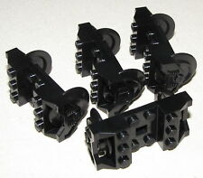 LEGO LOT OF 4 TRAIN WHEELS RC CITY TOWN 9V PIECES FOR A RAIL ROAD