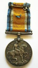 b780 UK BRITISH WAR MEDAL 1914-1918 GREAT BRITAIN AWARDED TO A MERCHANT NAVY