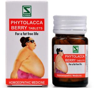 Schwabe Phytolacca Berry tablets 20g Homeopathic Remedy UK Seller
