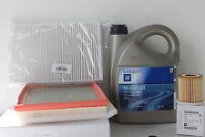Opel Inspektionskit Ölwechsel  5W-30 dexos2 Filterset Astra H 1.9CDTI 100-150 PS