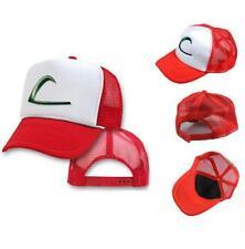 Pokemon Go Hat Baseball Cap Ash Ketchum Trainer Costume Cosplay Game Pokemaster