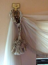 Tassel Large-Gorgeous Beige Colors. New w Tag! Add Beauty to UR Window Valance!