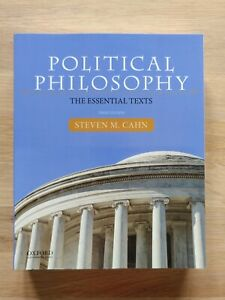 Political Philosophy Third Edition By Steven M. Cahn