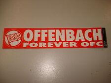 RARITÄT ! Aufkleber Forever Kickers Offenbach ca. 18 x 3,6 cm