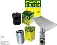 MANN-FILTER Paket + Presto Klima-Reiniger für Fiat Punto Van 176L 176_