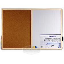 Magnetic whiteboard combination board Office Depot Cork 600 x 400mm