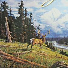 jigsaw puzzle tin 2000 pc Majestic Early Snow Randy Van Beek deer forest
