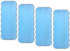 4x Kniematte blau | Garten Werkstatt Kniekissen | Knieschützer | Sitzunterlage