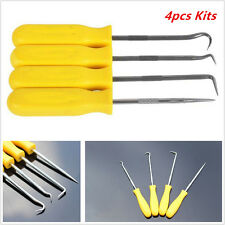 4× Car Auto Oil Seal/O Ring Seal Gasket Mini Precision Hook Puller Remover Tool