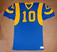 Vintage 1970s Los Angeles Rams Authentic Sand Knit Jersey - Tom Dempsey, RARE!!