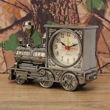 New Vintage Fashion Train Shape Alarm Clock Decoration Quartz Movement Alarm