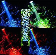 Aquarium Deko 🍀 LED BELEUCHTUNG mit SPRUDLER ✚ FERNBEDIENUNG 🍀 Zubehör
