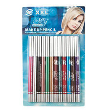12x Mixed Color Eyeliner Pen Eye Shadow Pen Eyebrow pencil Cosmetics