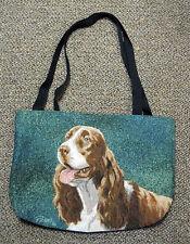 Springer Spaniel Tapestry Tote Bag