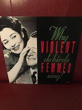 Violent Femmes Why Do Birds Sing? Rare Original Promo 12 x 12 Poster Flat 1991