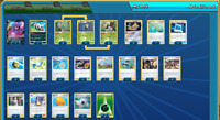 Stand Format Pokemon Card TCG Online Digital Decidueye Deck PTCGO