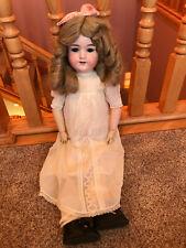 "25"" Pretty Antique bisque head composition Armand Marseille German Girl Doll TLC"