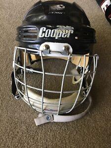 Vintage Cooper HH 3000M Hockey Helmet FM300m Face Mask