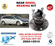 FOR OPEL ASTRA H REAR WHEEL BEARING 2004->2014 L35 ESTATE LPG CDTi 16V Turbo