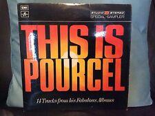 """FRANCK POURCEL - This Is Pourcel Studio 2 Stereo 12"""" Vinyl LP VGC #FREE P&P UK#"""