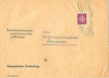 Ungeprüfte Briefmarken aus der DDR (ab 1945) mit Einzelfrankatur