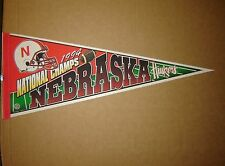 1994 Nebraska Cornhuskers National FB Champions Football Pennant
