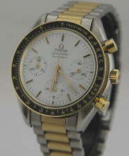 Omega Speedmaster Reduced Automatik Chronograph Stahl-Gold Ref: 175.0032 Top