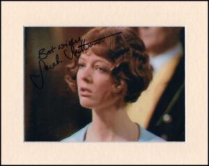 Sarah Sutton Doctor Dr Who Original Hand Signed 10x8 Mounted Autograph Photo COA