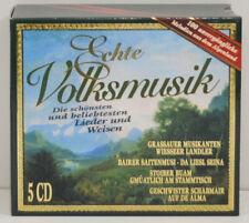 Grassauer Musikanten - Echte Volksmusik - 5 CD -  CD (NN495)
